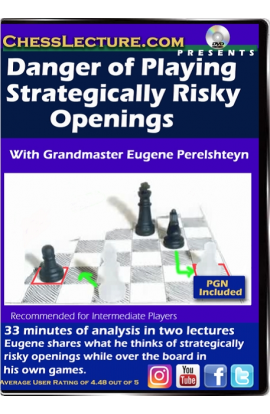 Danger of Playing Strategically Risky Openings Front