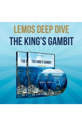 E-DVD - Lemos Deep Dive - #13 - The King's Gambit - GM Damian Lemos - Over 6 Hours of Content!