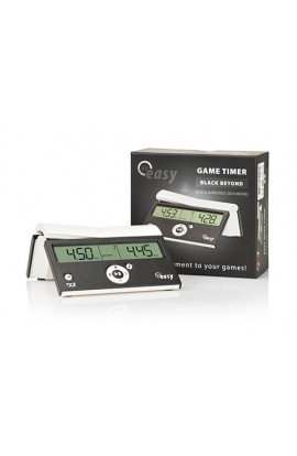 DGT Easy Timer Digital Chess Clock - Black Beyond