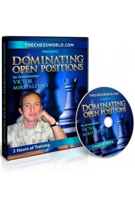 E-DVD Dominating Open Positions with GM Victor Mikhalevski