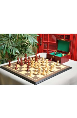 "The Livorno Series Luxe Chess Set, Board & Box Combination - 4.4"" King"