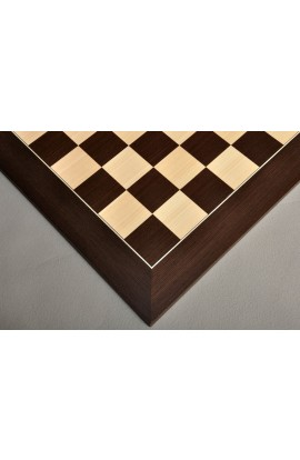 Wenge and Maple Standard Traditional Chess Board