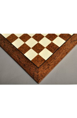 Brown Erable and Bird's Eye Maple Traditional Chess Board