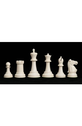 "The Marshall Series Plastic Chess Pieces - 3.75"" King"