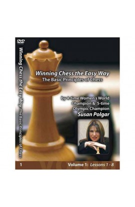 E-DVD WINNING CHESS THE EASY WAY - VOLUME 1 - The Basic Principles of Chess