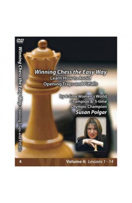 WINNING CHESS THE EASY WAY - VOLUME 4 - Learn How to Avoid Opening Traps and Pitfalls