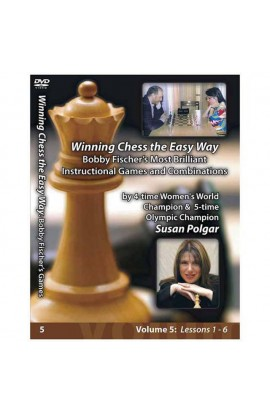 E-DVD WINNING CHESS THE EASY WAY - VOLUME 5 - Bobby Fischer's Most Brilliant Instructional Games and Combinations