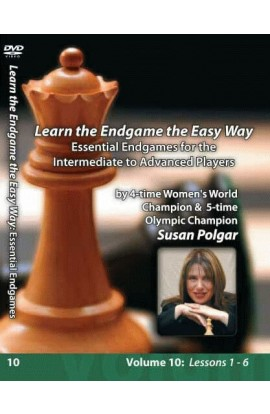 E-DVD WINNING CHESS THE EASY WAY - VOLUME 10 - Essential Endgames for Intermediate and Advanced Players