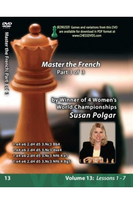 E-DVD WINNING CHESS THE EASY WAY - VOLUME 13 - Mastering The French - PART 3