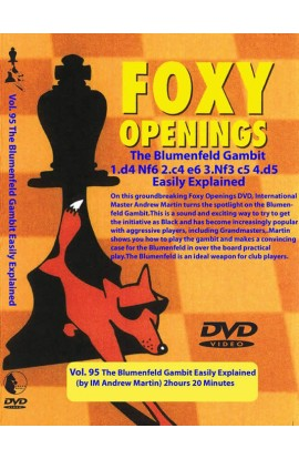 FOXY OPENINGS - VOLUME 95 - The Blumenfeld Gambit
