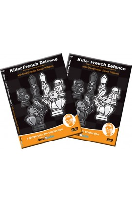 The Complete Killer French by GM Simon Williams - 2 Volumes