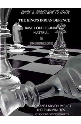 E-DVD ROMAN'S LAB - VOLUME 101 - Quick and Easier Way to Learn the King's Indian Defense