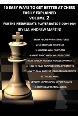 E-DVD FOXY OPENINGS - VOLUME 115 - 10 Easy Ways to Get Better at Chess - Intermediate