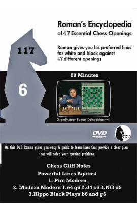 E-DVD ROMAN'S LAB - VOLUME 117 - Encyclopedia of Chess Openings - PART 6