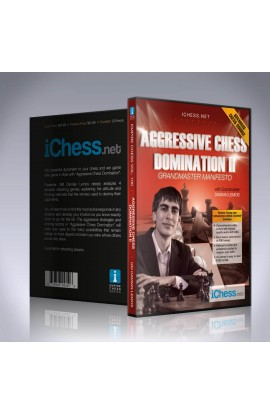 E-DVD - Aggressive Chess Domination II - EMPIRE CHESS