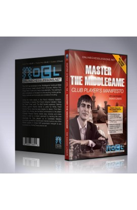 E-DVD - Master the Middle Game - EMPIRE CHESS