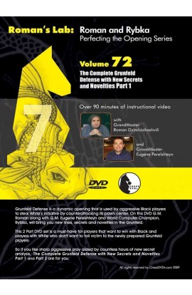 E-DVD ROMAN'S LAB - VOLUME 72 - The Complete Grunfeld Defense with New Secrets and Novelties - PART 1