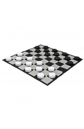 "10"" Giant Checkers Set - Includes Pieces and Board"