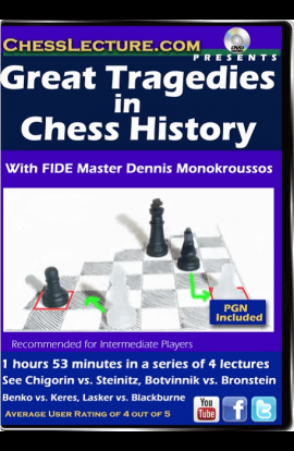 Great Tragedies in Chess History - Chess Lecture - Volume 149