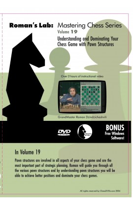 E-DVD ROMAN'S LAB - VOLUME 19 - Understanding Your Chess Game With Pawn Structures