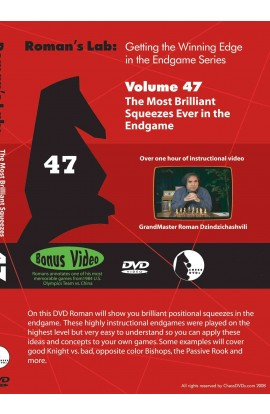 E-DVD ROMAN'S LAB - VOLUME 47 - The Most Brilliant Squeezes Ever in the Endgame