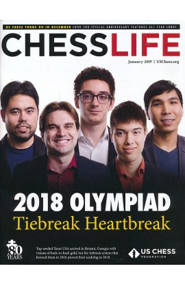 CLEARANCE - Chess Life Magazine - January 2019 Issue