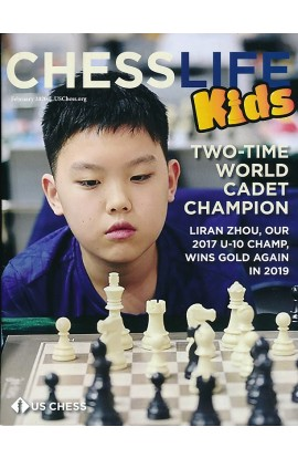CLEARANCE - Chess Life For Kids Magazine - February 2020 Issue