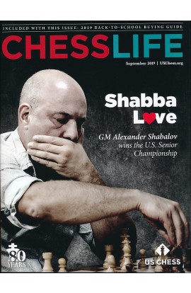 CLEARANCE - Chess Life Magazine - September 2019 Issue