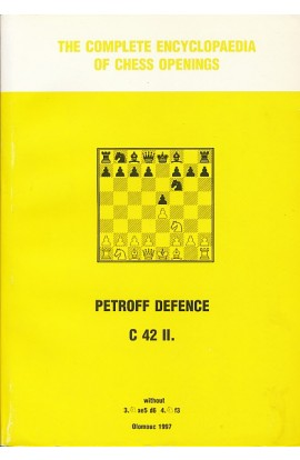 CLEARANCE - The Complete Encyclopedia of Chess Openings - Petroff Defence C42 II