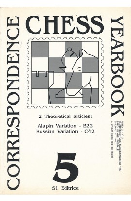 CLEARANCE - Correspondence Chess Yearbook - Volume 5