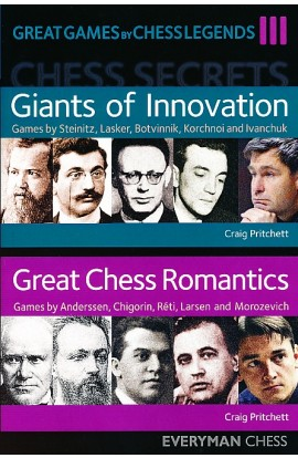 SHOPWORN - Great Games by Chess Legends - Vol. 3