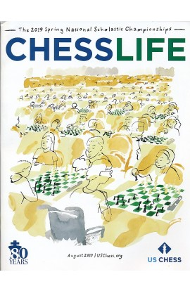 CLEARANCE - Chess Life Magazine - August 2019 Issue