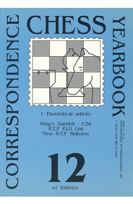 CLEARANCE - Correspondence Chess Yearbook - Volume 12