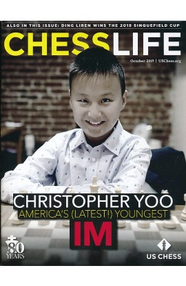 CLEARANCE - Chess Life Magazine - October 2019 Issue