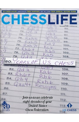 CLEARANCE - Chess Life Magazine - December 2019 Issue