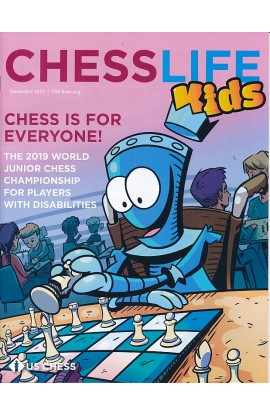 CLEARANCE - Chess Life For Kids Magazine - December 2019 Issue