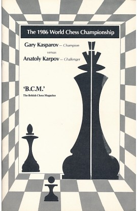 CLEARANCE - The 1986 World Chess Championship - Garry Kasparov vs. Anatoly Karpov