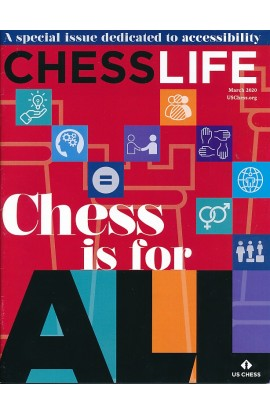 CLEARANCE - Chess Life Magazine - March 2020 Issue