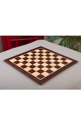 "IMPERFECT - African Palisander and Maple Wooden Tournament Chessboard 2.0"" Squares"