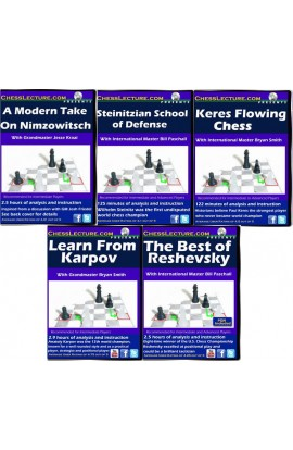 Intense Study of the Masters - 5 DVDs - Chess Lecture