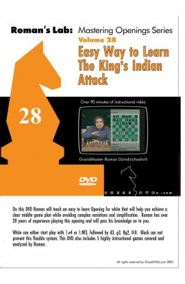 ROMAN'S LAB - VOLUME 28 - The Easy Way to Learn the King's Indian Attack