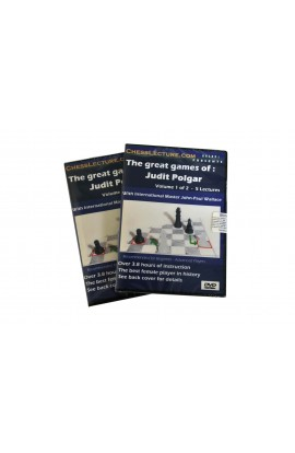 The Great Games of Judit Polgar - 2 DVD's - Chess Lecture - Volume 31