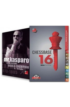 CHESSBASE 16 - MEGA Edition & Mr. Kasparov: How I Became World Champion Bundle
