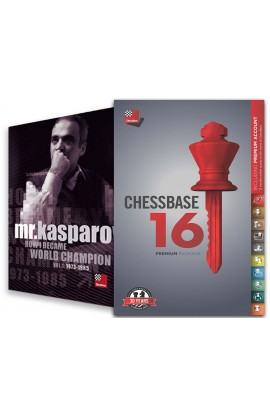 CHESSBASE 16 - PREMIUM Edition & Mr. Kasparov: How I Became World Champion Bundle