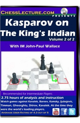 Kasparov on the King's Indian - 2 DVDs - Chess Lecture - Volume 115