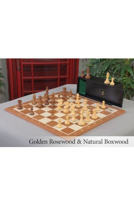 The Bohemian Series Luxury Chess Set, Box, & Board Combination