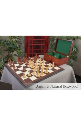 "The 6"" Fischer-Spassky Series Chess Set, Box, & Board Combination"