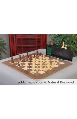 The Professional Series Chess Set, Box, & Board Combination