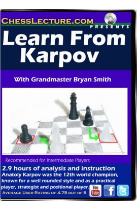 Learn from Karpov - Chess Lecture - Volume 93
