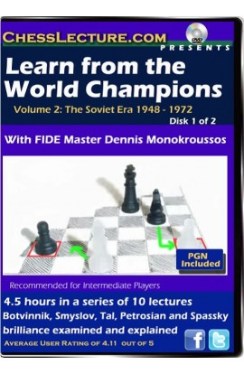 Learn from the World Champions - Chess Lecture - 2 DVDs - Volume 59